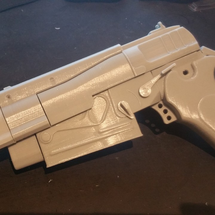 Picture of print of Fallout 4 - 10mm Pistol This print has been uploaded by Daniel Lilygreen