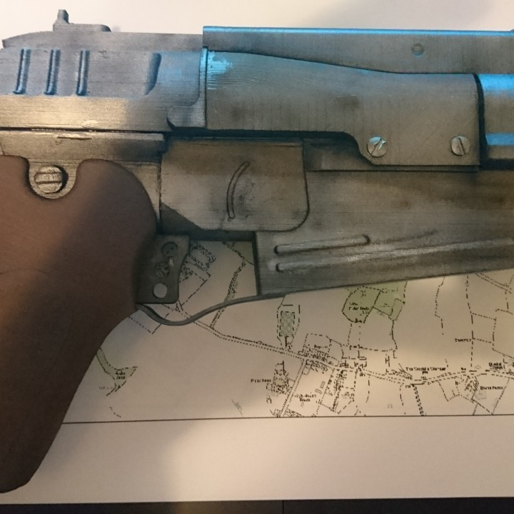 Picture of print of Fallout 4 - 10mm Pistol This print has been uploaded by Gary Roffey-Bond