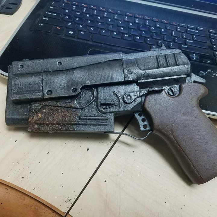 Picture of print of Fallout 4 - 10mm Pistol This print has been uploaded by Nick Beeman