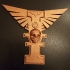 Warhammer 40k - Inquisitorial Rosette, Winged Version print image