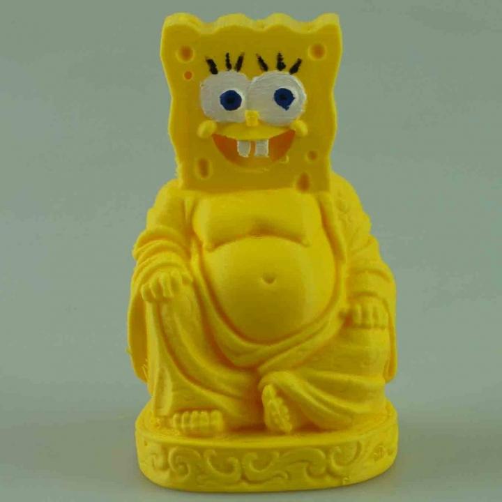 Spongebob Buddha