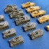 1:200 Tanks and Vehicles Pack 2 image