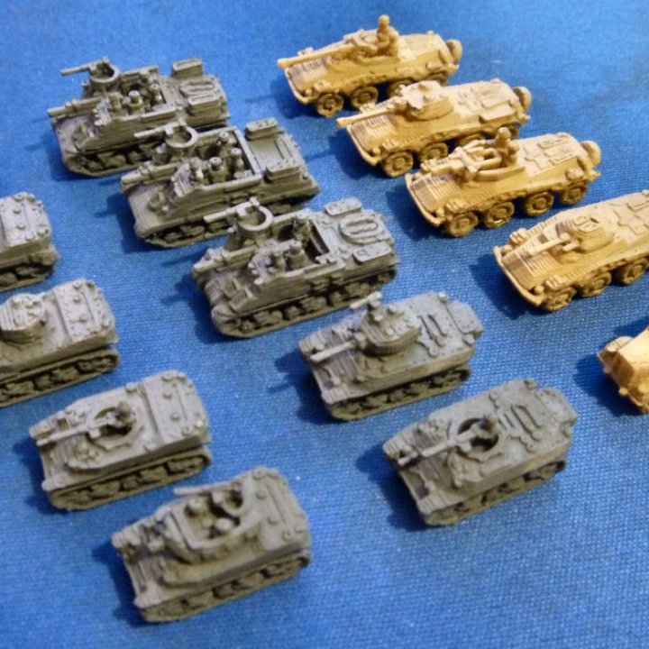 1:200 Tanks and Vehicles Pack 2