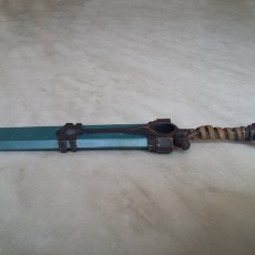 Picture of print of Ekko Sword 30cm