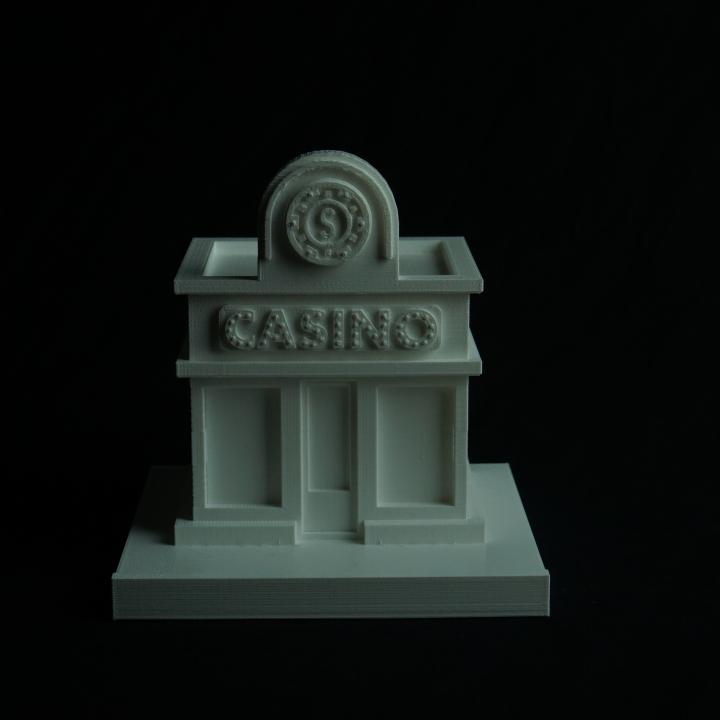 Cartoon Building_Casino