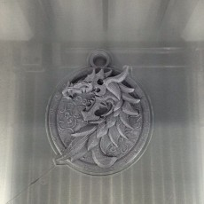 Picture of print of Ebonheart Pact - Elder Scrolls online Faction Pendant