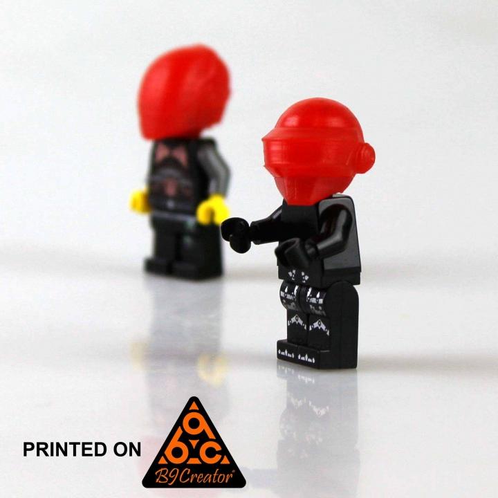 Daft Punk Lego/ Thomas Bangalter - Resin Print