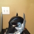 Arkham Knight Wearable helmet print image