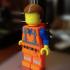 Lego 6in Emmett Minifig print image
