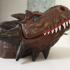 Incense stick burner - Dragon head print image