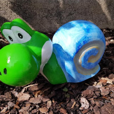 Picture of print of Snail + Yoshi This print has been uploaded by BENOLD Andreas