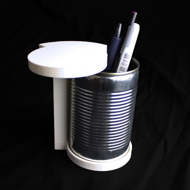 Table top Mini Trash Can - Upcycling