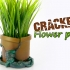 Cracked Flower pot image