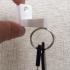 Magnetic key holder image