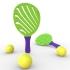 Beach Racket: ZEBRA image