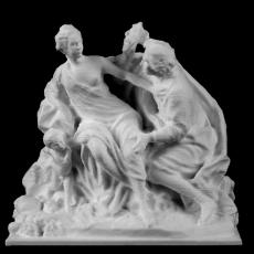 Vertumnus and Pomona at The Louvre, Paris