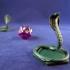 Magic The Gathering Snake Token image