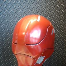 Picture of print of Red Hood Helmet