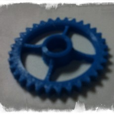 Picture of print of Semi-Formal Pocket Gear Train