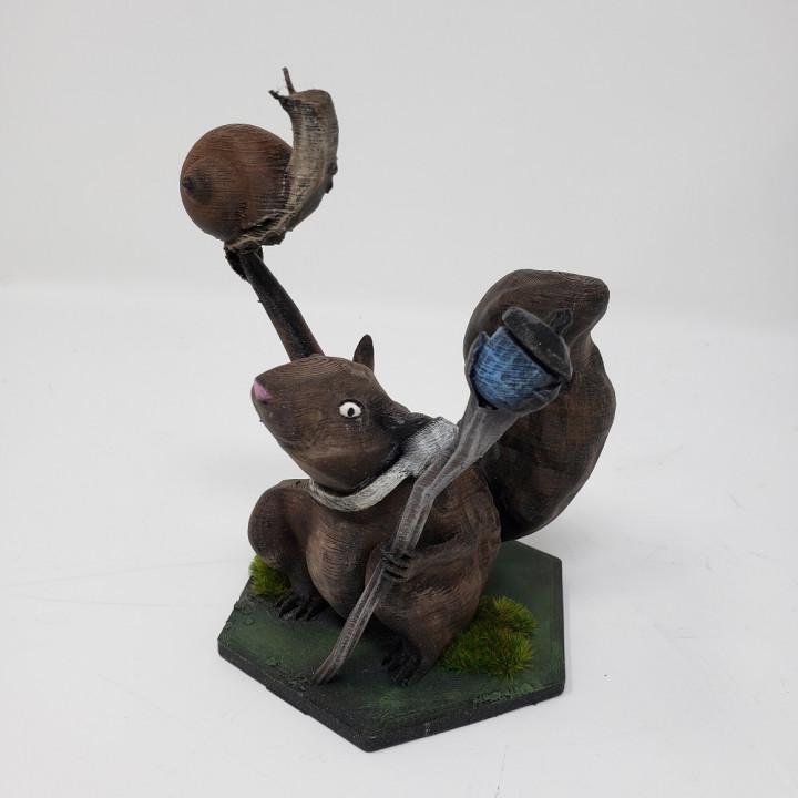 Magic The Gathering Squirrel Mage Token