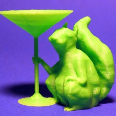 Squirrel Martini