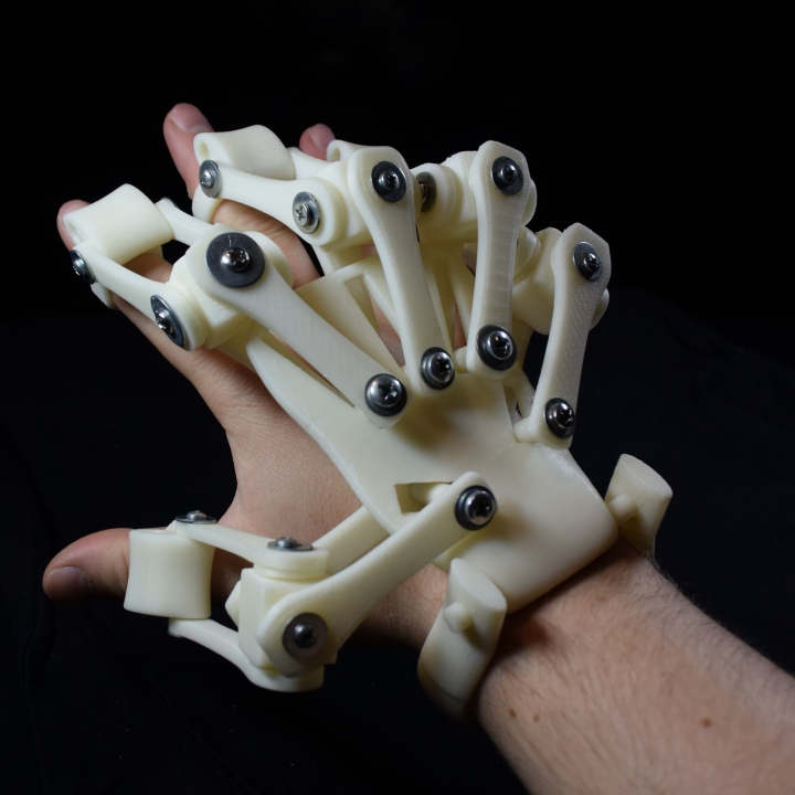 3D Printed Exoskeleton Hands