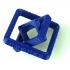Square Gimbal Keychain image