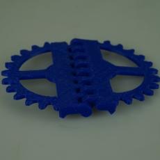 Steampunk Gear Hinge