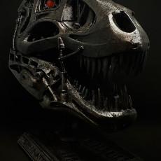 Picture of print of Terminator REX