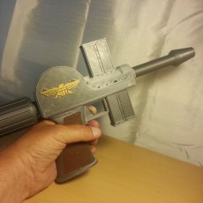 Picture of print of Judge Dredd Lawgiver Mk1