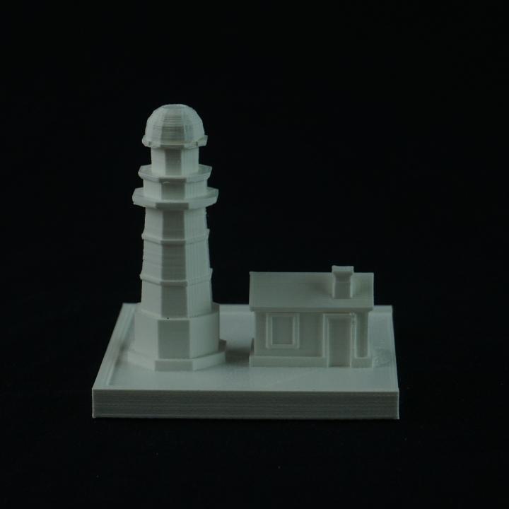 Cartoon Building_010_Lighthouse