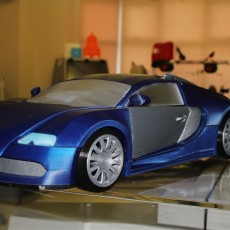 Picture of print of Bugatti Veyron This print has been uploaded by tim kay