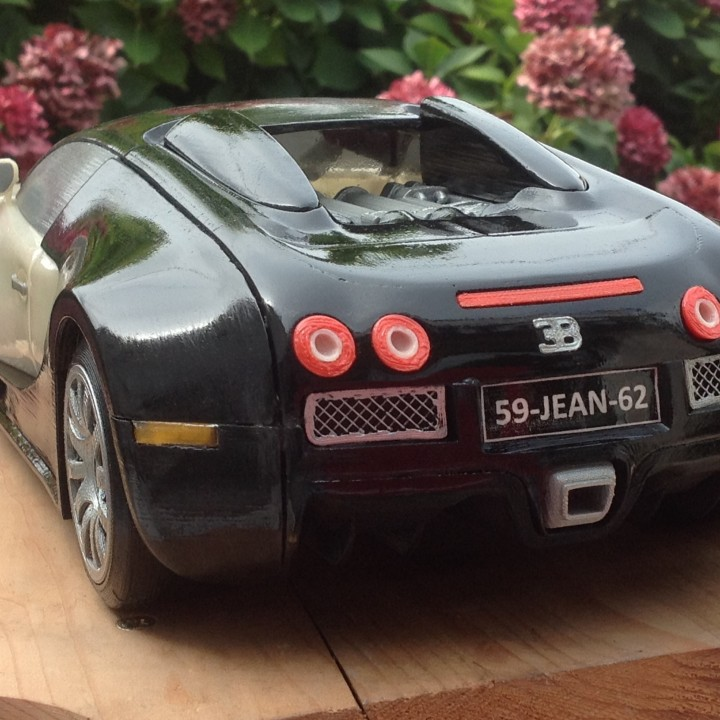 Picture of print of Bugatti Veyron This print has been uploaded by JEAN DUBART