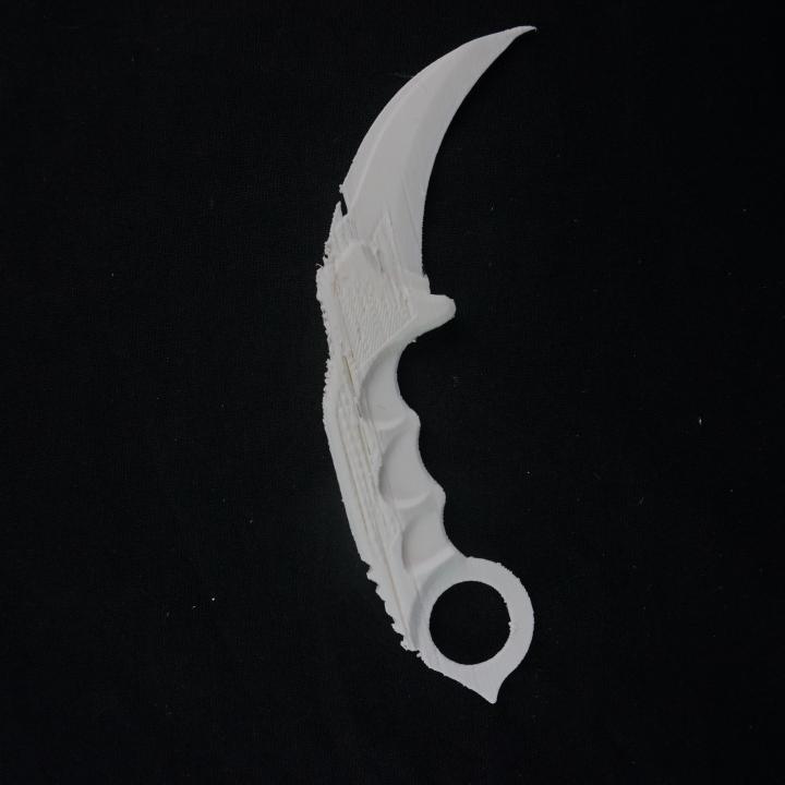 CS:GO Inspired Karambit Knife
