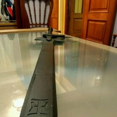 Picture of print of Kirito's Dual Blade elucidator