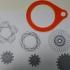 Spirograph print image
