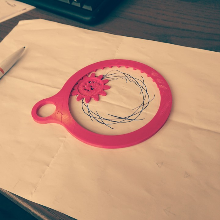 Picture of print of Spirograph This print has been uploaded by Romain Kidd
