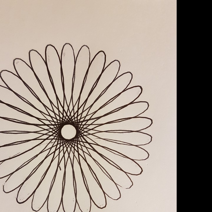 Picture of print of Spirograph This print has been uploaded by Martin