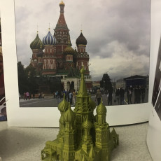 Picture of print of SAINT BASIL CATHEDRAL