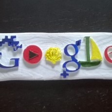 Picture of print of Google Doodle general concept