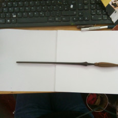 Picture of print of Luna Lovegood Wand Harry potter