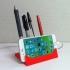 Smartphone + Pen holder print image