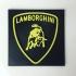 Lamborghini 3D emblem print image