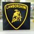 Lamborghini 3D emblem image