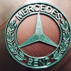 Mercedes Benz 3D emblem