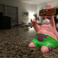 "Picture of print of ""Hammered"" Patrick!"