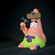 """Picture of print of """"Hammered"""" Patrick!"""