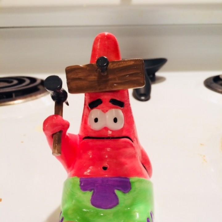 """Hammered"" Patrick!"