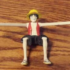Picture of print of Luffy Phone Holder