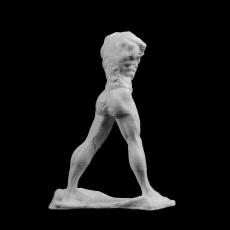 The Walking Man at The Musee Rodin, Paris
